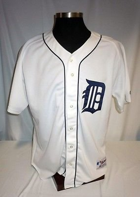 Detroit Tigers Vintage Authentic Russell Home Jersey for sale  Delivered anywhere in Canada