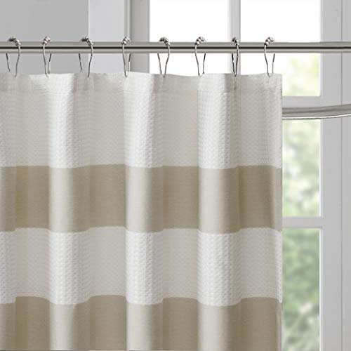 Madison Park Spa Waffle Shower Curtain by Madison Park (Image #4)