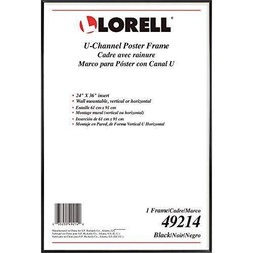"Lorell Stylish Poster Frame, 24"" x 36"" (49214)"