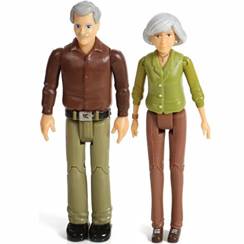 - Beverly Hills Doll Collection TM Sweet Li'l Family Set of Grandparents Action Figure Set, Grandma and Grandpa