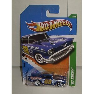 Hot Wheels 2011 57 Chevy Treasure Hunt #2 of 15 ()
