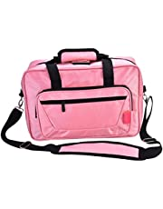 Clarinet Oboe Case Bag Portable Clarinet Carry Case Oboe Bag Durable Musical Instrument Handbag with Adjustable Single Shoulder Strap 5 Colors (Pink)