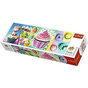 Trefl Puzzle Panorama Modello Cupcake Colorati 1000 Pezzi 29045 Multicolore