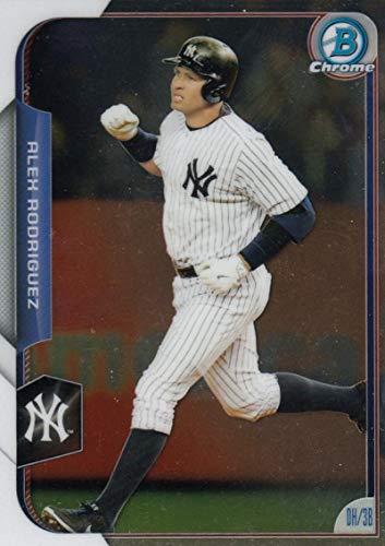 - 2015 Bowman Chrome #156 Alex Rodriguez Yankees MLB Baseball Card NM-MT