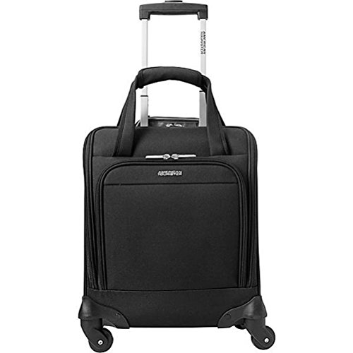 American Tourister Lynnwood 16 Inch Underseat Spinner Carry-On Luggage With Wheels - (Black) American Tourister Lightweight Garment Bag