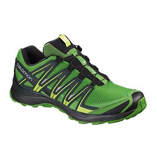 XA Calzado noir foncà Running Salomon Trail vif Hombre de Lite vert vert w7PqnR54