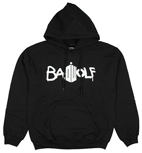 Doctor Who Women's Bad Wolf Pullover Hoodie (X-Large)