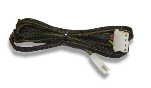 72 inch 4 pin Molex Extension Cable Sleeved