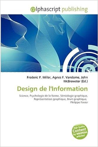 Livres gratuits en ligne Design de L'Information pdf epub