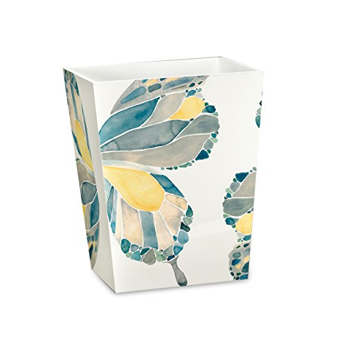 (Shell Rummel Waste Basket, Butterfly Collection, Yellow)
