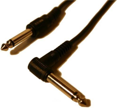 3m geflochten Audio Gitarrenkabel Klinkenkabel 6,3mm gerade