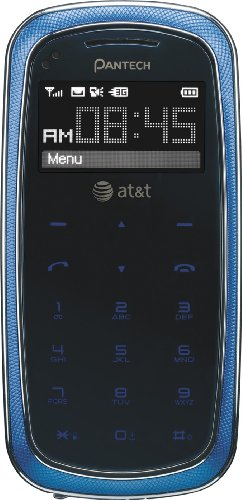 Pantech Impact P7000 Phone, Blue (At&T) At A Glance
