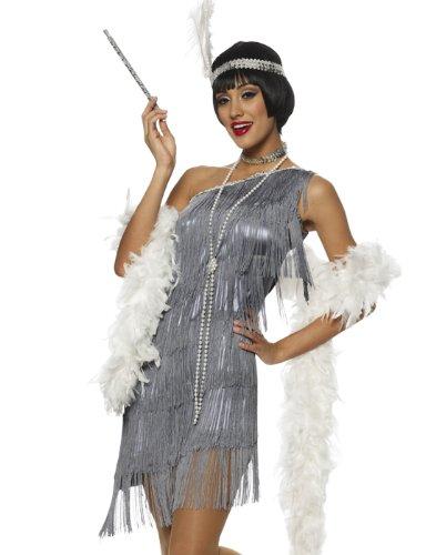 Dazzling Flapper Costume - Large - Dress Size 12-14