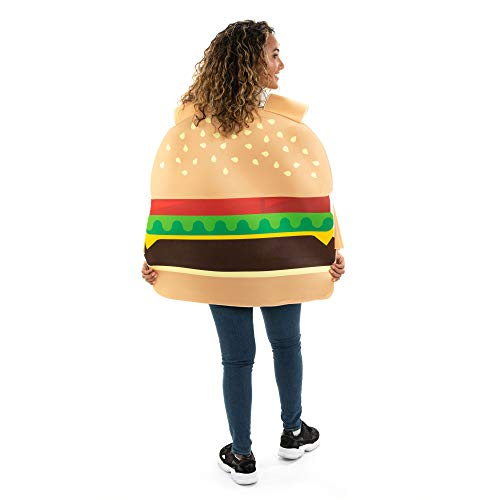 Beefy Burger One-Size Halloween Costume - Funny Food Adult Unisex Mascot Suit - http://coolthings.us