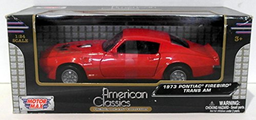 - Motormax 1973 Pontiac Firebird Trans Am Red 1/24 73243