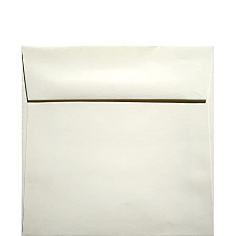 Classic Crest Natural White - 6 in (6X6) Square Envelopes (80T/Smooth) - 25 PK - Classic Crest Envelope Natural