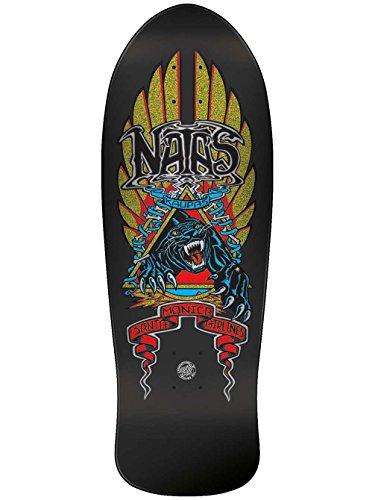 Santa Cruz SMA Old School Skateboard Deck Natas Panther Metallic Glitter 10.5