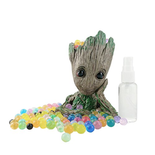 Baby Groot Flowerpot, The Guardians of Galaxy Flower Pot Cute Baby Action Figures Model Toy Pen Pencil Holder PVC Plant Holder (1 PCS) by AIMEI