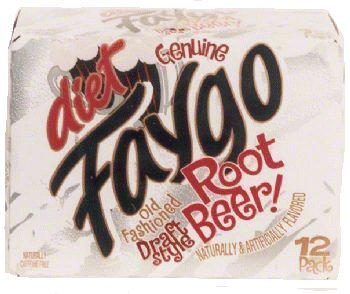 Faygo diet root beer soda, 12-pack 12-fl. oz. cans