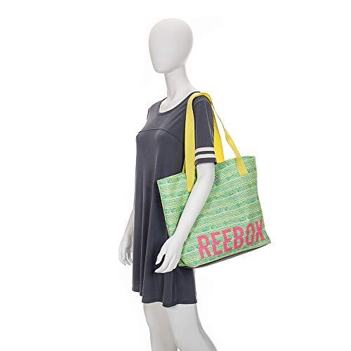 6f4cb35884be Reebok Aurora Tote Bag (Med Heather Grey)