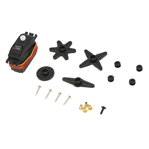 (Kingzer GS-D9257 Digital Tail Rudder Plastic Servo for Align Trex 450 500 RC Helicopter)