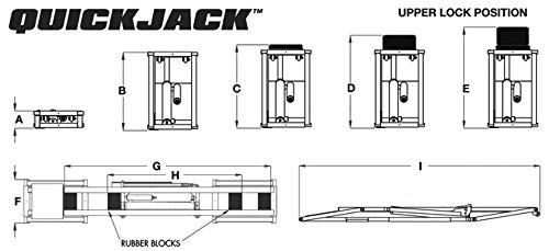 Bl 3500slx By Quickjack 3 500 Lifting Capacity 110 Volt