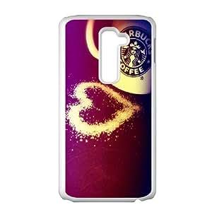 Starbucks Coffee Print LG G2 Cell Phone Case White Delicate gift AVS_587314