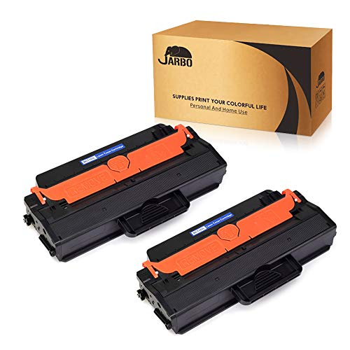 JARBO 2 Black Compatible for Samsung 103L MLT-D103L MLTD103L Toner Cartridges High Yield, Use with Samsung ML-2955ND ML-2955DW ML-2950ND SCX-4729FW SCX-4729FD Printer ()