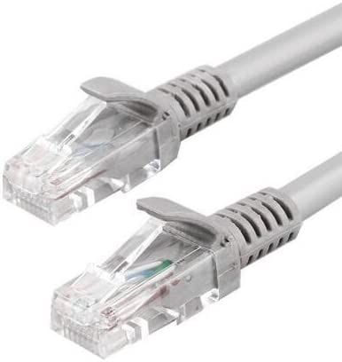 10Gbps 550MHz 164 feet Theecase 1 pack XINSANYI Ethernet Cable Supports Cat 5e Standards RJ45 Computer Networking Cord Grey