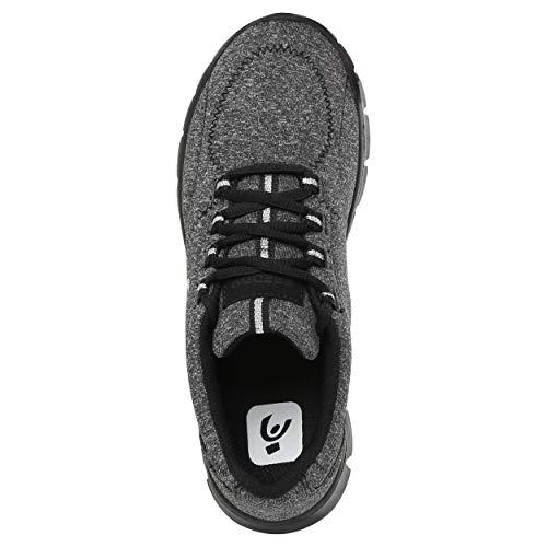 black Leggera Con Fitness Imbottito Black Tallone Scarpa qYTC1