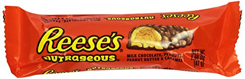Swirl Peanut Chocolate Butter (REESE'S Nutrageous Chocolate Peanut Butter Candy Bar (Pack of 18))