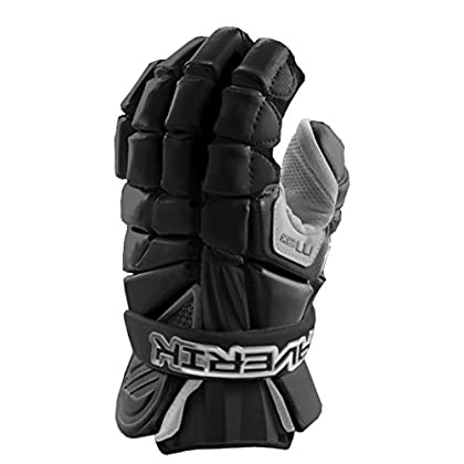 Image of Arm Guards Maverik Lacrosse Max Glove - Black