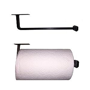 Amazon.com: Adobe Wrought Iron Paper Towel Holder Under Cabinet ...