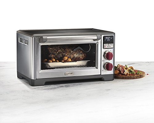 wolf gourmet wgco100s countertop oven with convection kitchens geek. Black Bedroom Furniture Sets. Home Design Ideas
