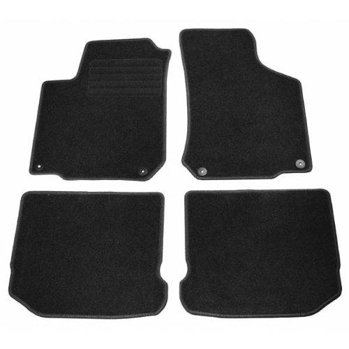 Velour floor mats car mats Seat Ibiza (6L) 04.2002-05.2008 4 pieces