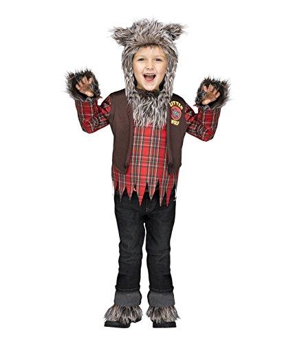 [Li'l Wolf Man Toddler Costume] (Wolf Costumes Toddler)