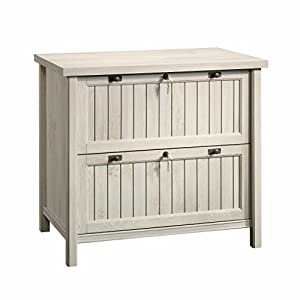 Sauder 420040 Costa Lateral File, Chalked Chestnut Finish