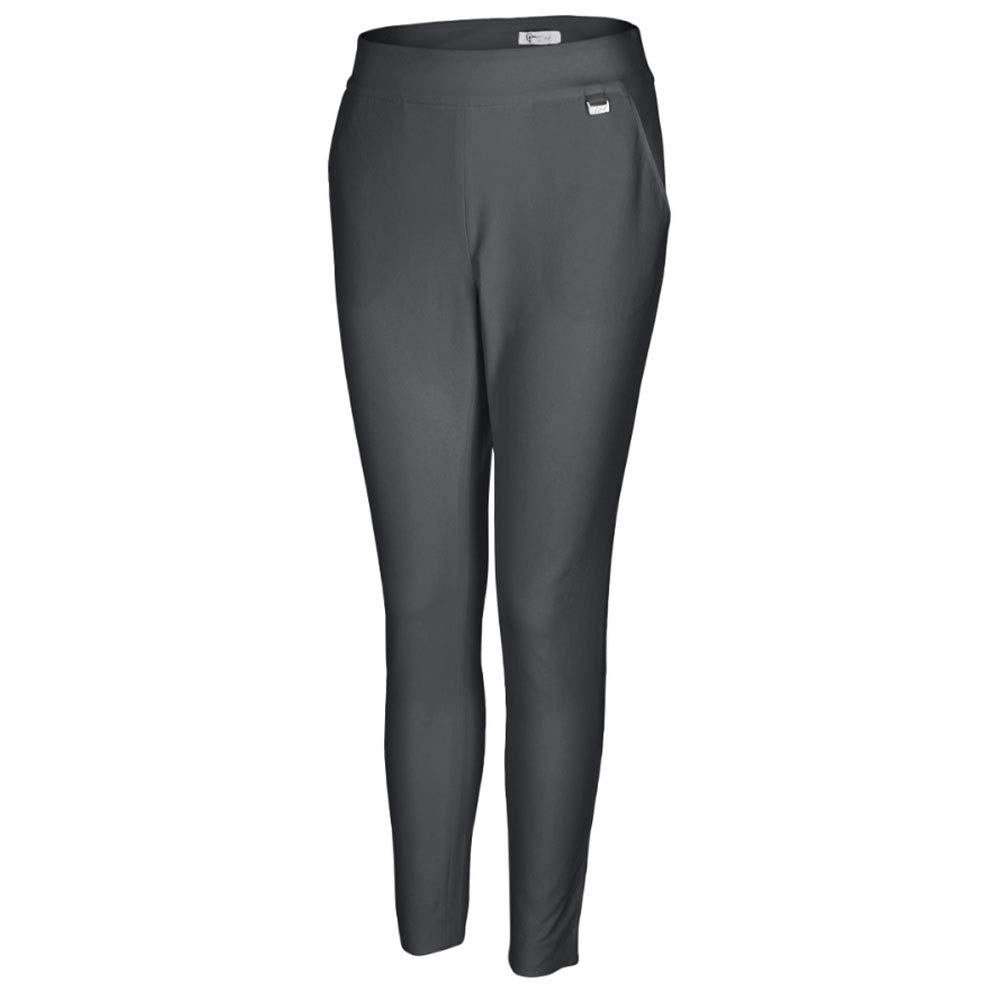 Greg Norman Women's Ml75 Pull-on Pant, Carbon, 2