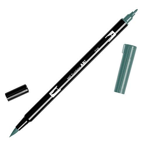 Tombow Dual Brush Pen Art Marker, 228 - Gray Green, 1-Pack