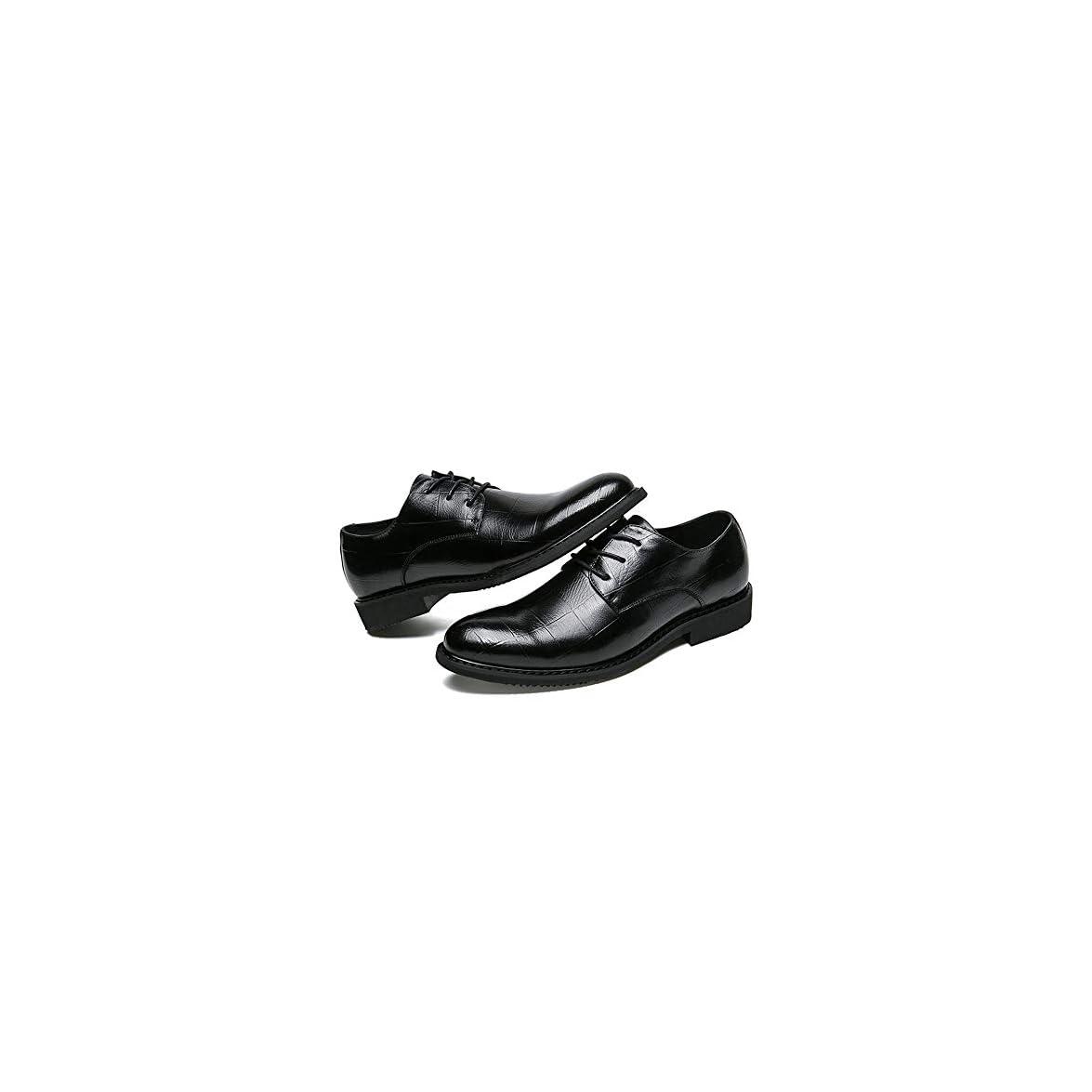 42 Da Casual Uomo Dimensione Business Eu Formali color Semplice Accogliente Stile Tufanyu Nuovo Classico Scarpe Nero Oxford Britannico
