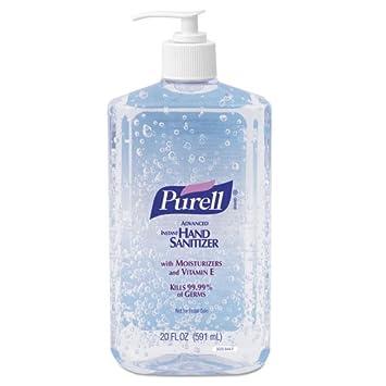 Amazon.com : Purell Hand Sanitizer - 20-oz. / 12 per Carton : Large Soap : Beauty