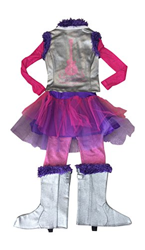 [Disney Store Deluxe Hannah Montana Rock Star Halloween Costume Size 10 - 12 Tween Fit] (Miley Cyrus Disney Costume)
