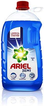 Detergente Líquido Ariel Multiusos 3Em1 3L, Ariel