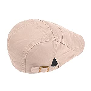 Funjoy Mens newsboy Cabbie Driving Hat Retro Peaked Hat Caps For Spring Summer 2