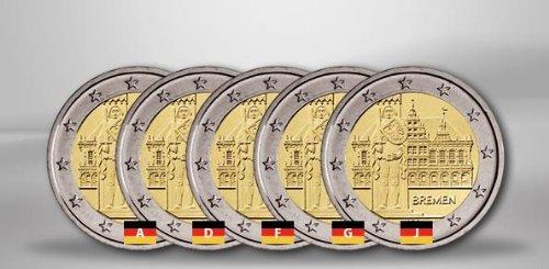 Premium Münzalbum 2 Euro Deutsche Bundesländer Amazonde Küche