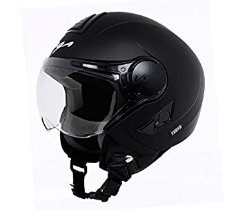 b525cc93 Vega Verve Open Face Helmet (Women's, Dull Black, M): Amazon.in: Car ...