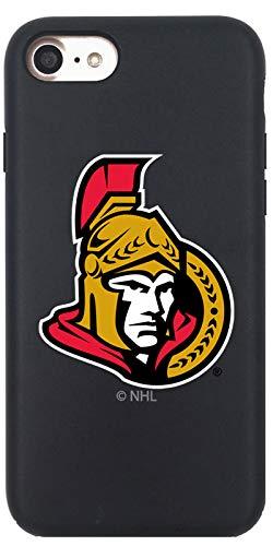 Ottawa Senators - Primary Logo Design on Black iPhone 8 Guardian Case by -