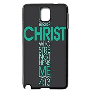 Bible Verse The Unique Printing Art Custom Phone Case for Samsung Galaxy Note 3 N9000,diy cover case ygtg619858