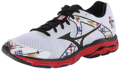 Mizuno Men's Wave Inspire 10 Running Shoe,White,11.5 D US
