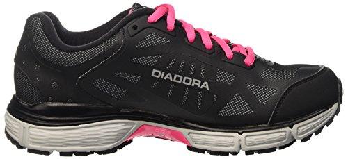 Da Corsa argento 2 Scarpe Bright Donna Nero Win W N Diadora 4100 nero a8gAa0